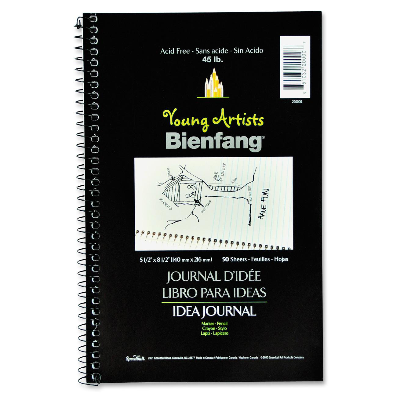 idea office supplies. Spiral Bound Book Is Designed To Let The Artist Sketch Ideas And Write Notes On Same Page. Acid Free Pages Are Half Lined Blank. Idea Office Supplies