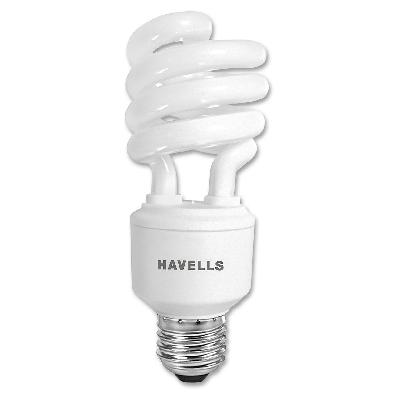Havells 23W Spiral Compact Fluorescent Bulb