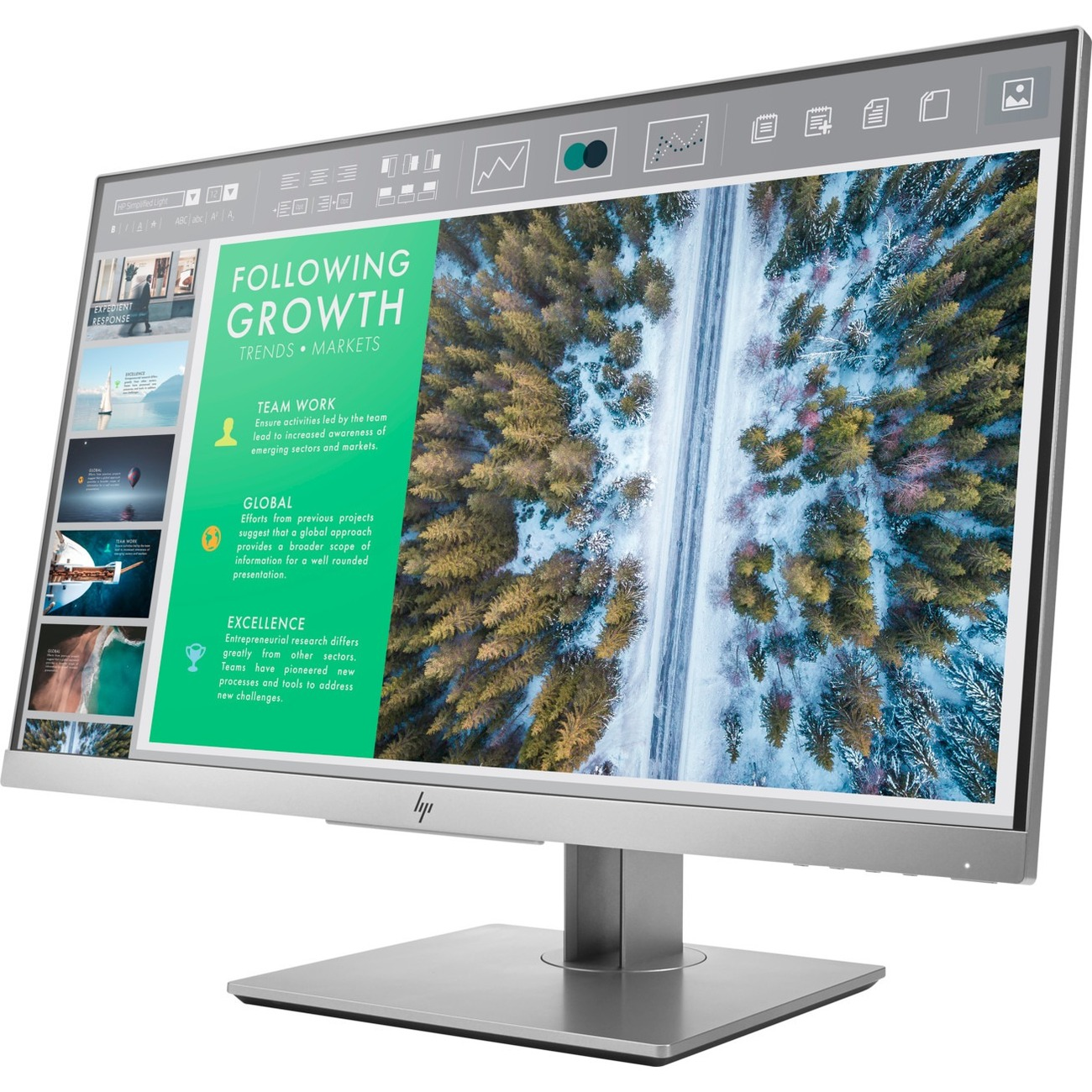 "HP Business E243 23.8"" Full HD LED LCD Monitor - 16:9_subImage_1"