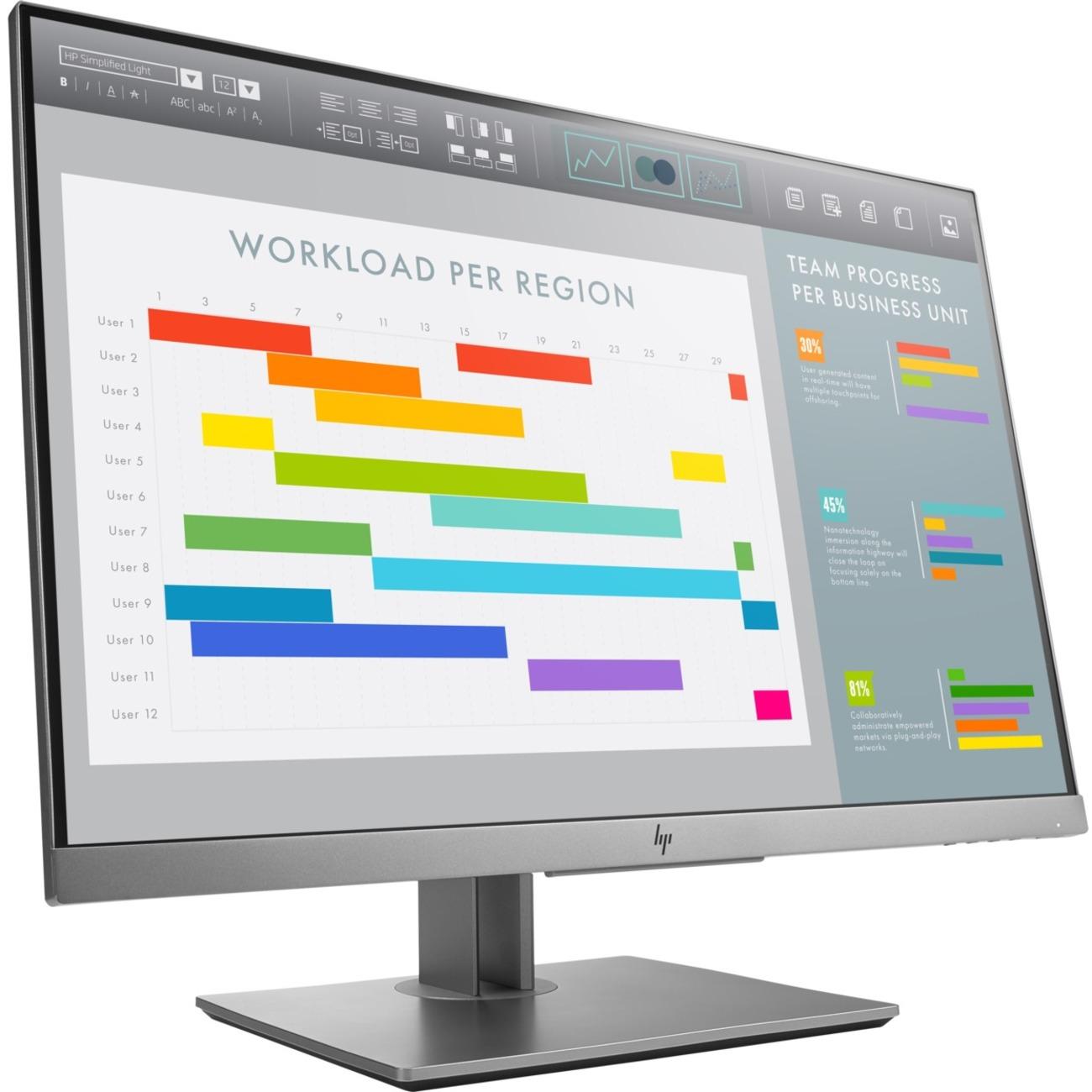 """HP Business E243i 24"""" WUXGA LED LCD Monitor - 16:10_subImage_1"""