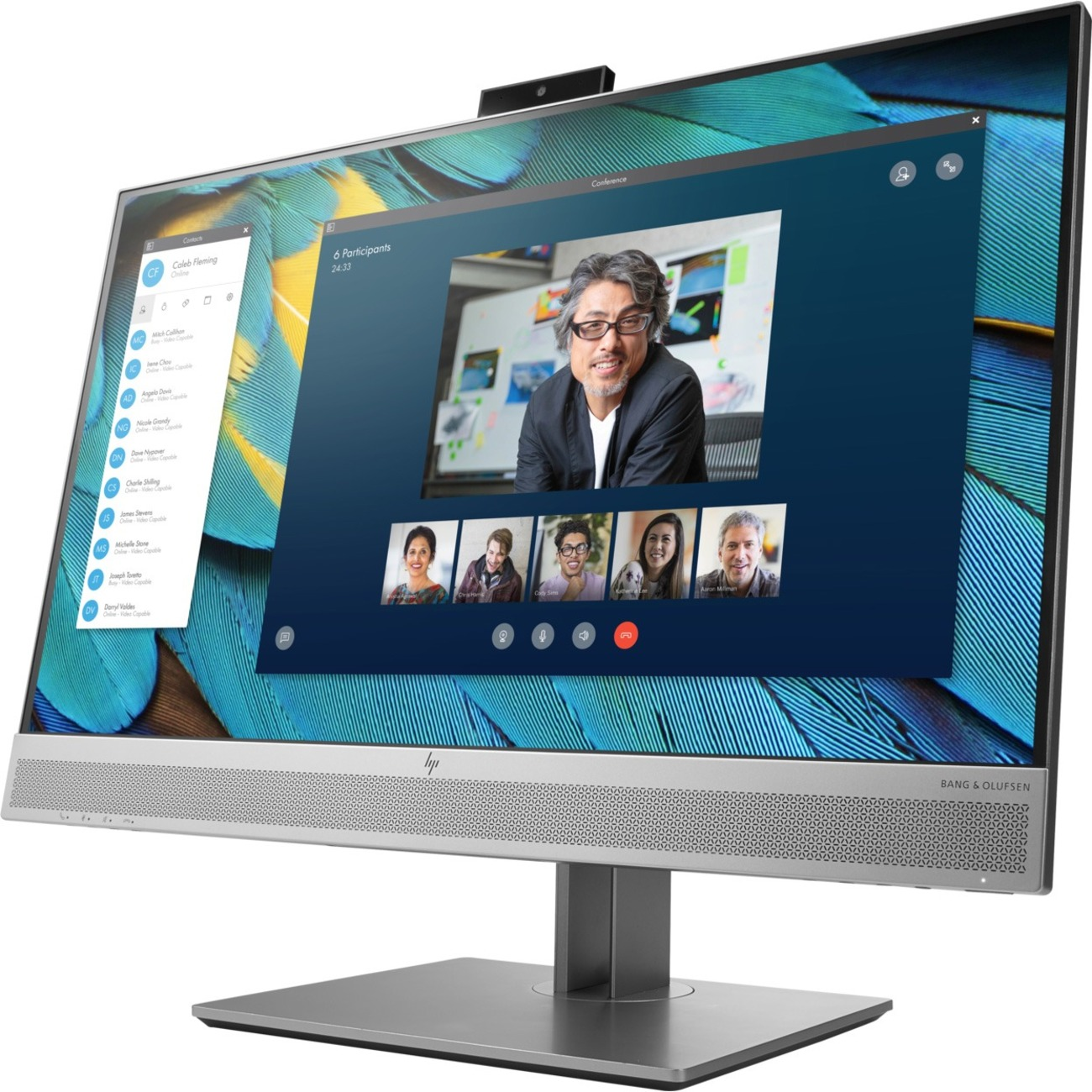 """HP Business E243m 23.8"""" Full HD WLED LCD Monitor - 16:9 - Black, Silver_subImage_1"""