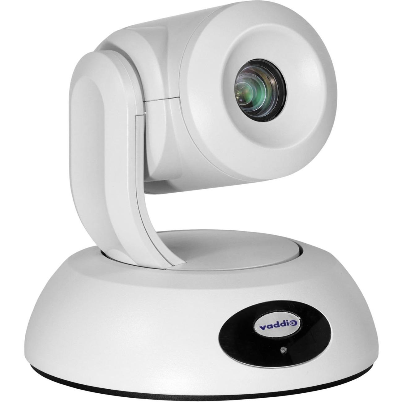 Vaddio RoboSHOT Elite Video Conferencing Camera - 8.5 Megapixel - 60 fps - White - USB 3.0 - 1 Pack(s)_subImage_1