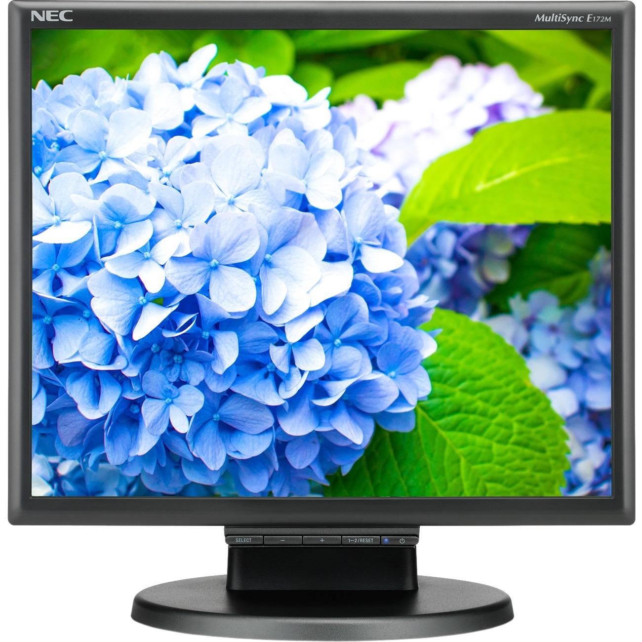 """NEC Display E172M-BK 17"""" SXGA LED LCD Monitor - 5:4 - Black_subImage_1"""