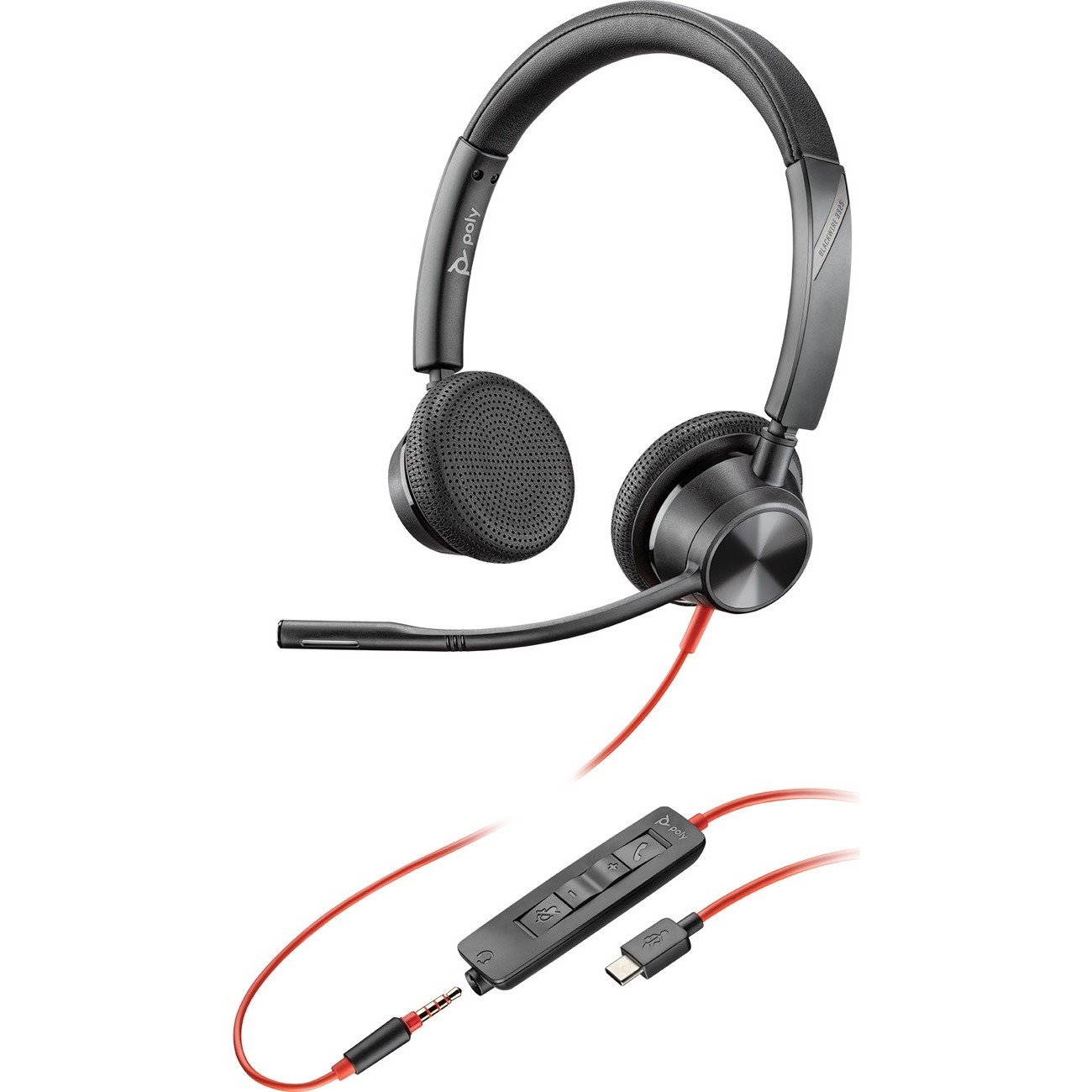 Plantronics Blackwire 3325 Microsoft USB-C Headset_subImage_1