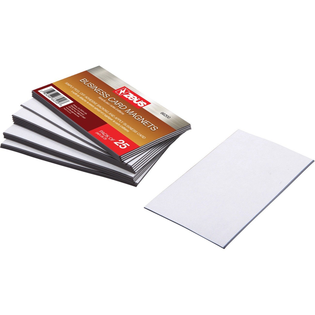 Sns data office supplies paper pads cards stationery adhesive backed magnets are cut to business card size they are perfect for small businesses as a marketing tool easily adhere your pre printed business colourmoves