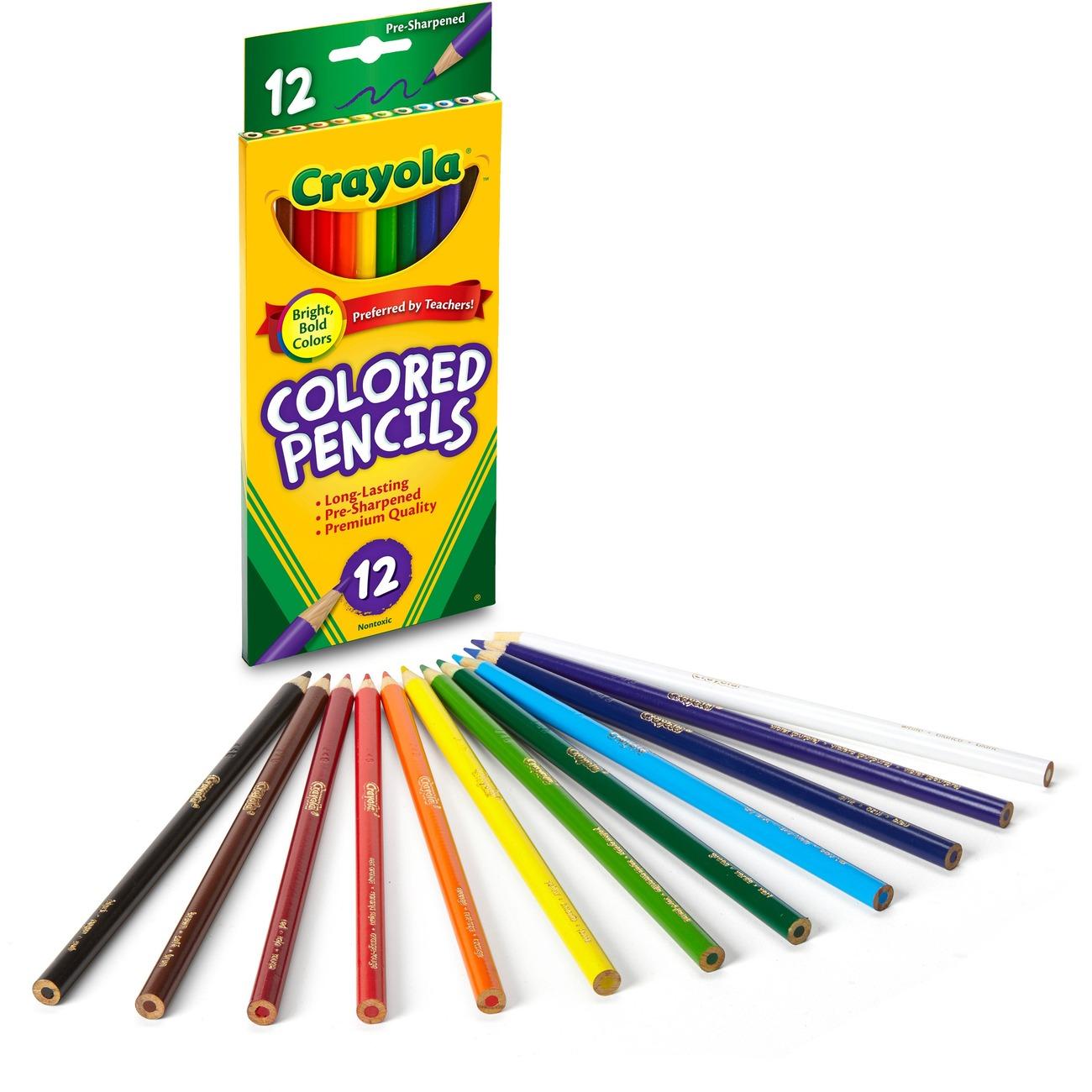 Crayola 68-4012 12-Count Colored Pencils