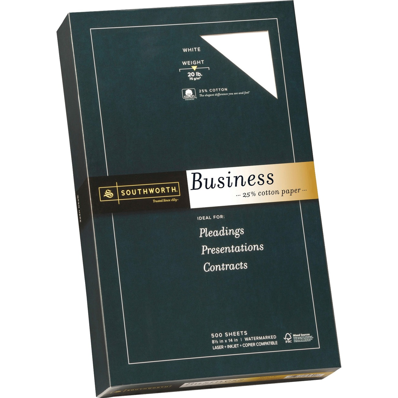 southworth business paper All prices listed are delivered prices from costco business center product availability and pricing are subject to change without notice price changes, if any, will be reflected on your order confirmation.