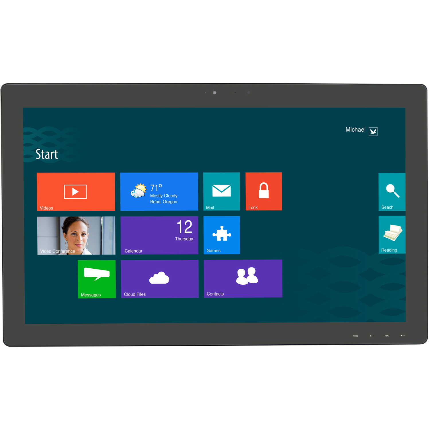 """Planar Helium PCT2785 27"""" LCD Touchscreen Monitor - 16:9 - 12 ms_subImage_1"""