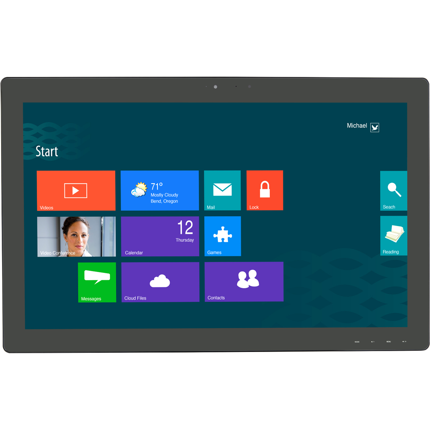 """Planar Helium PCT2485 24"""" LCD Touchscreen Monitor - 16:9 - 14 ms_subImage_1"""