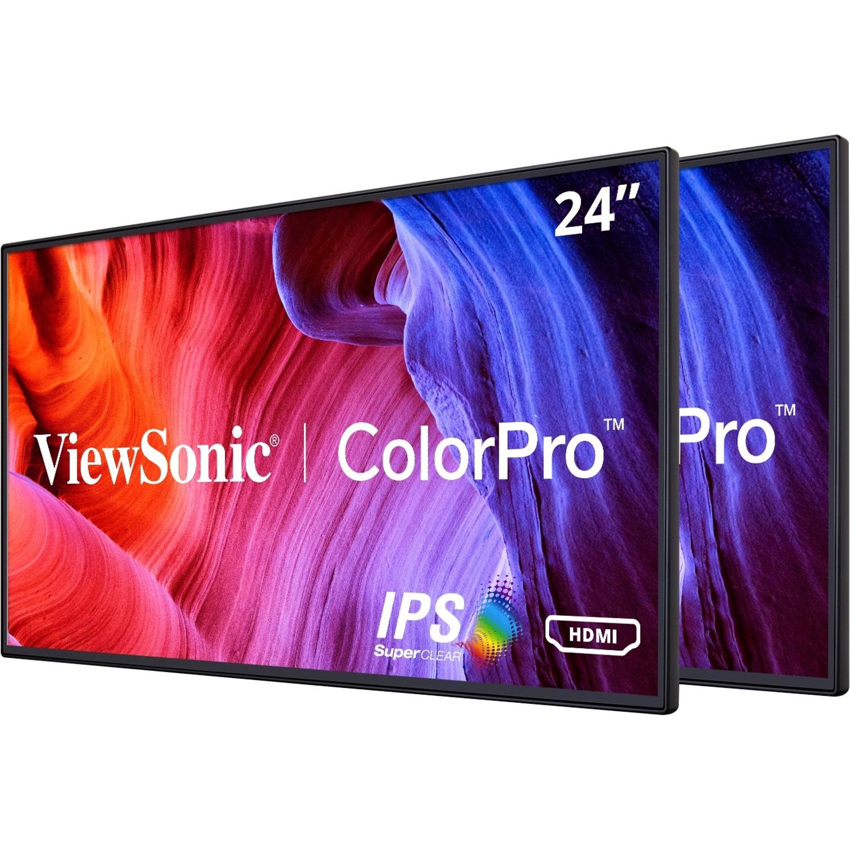 "Viewsonic VP2468_H2 24"" Full HD LED LCD Monitor - 16:9 - Black_subImage_1"