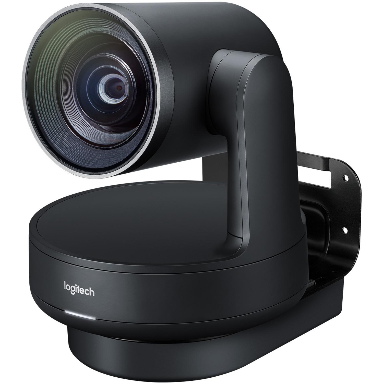 Logitech Video Conferencing Camera - 13 Megapixel - 60 fps - Matte Black, Slate Gray - USB 3.0_subImage_1