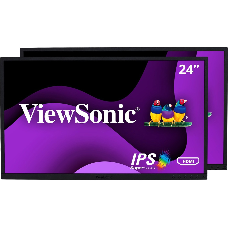 "Viewsonic VG2448_H2 24"" Full HD WLED LCD Monitor - 16:9_subImage_1"