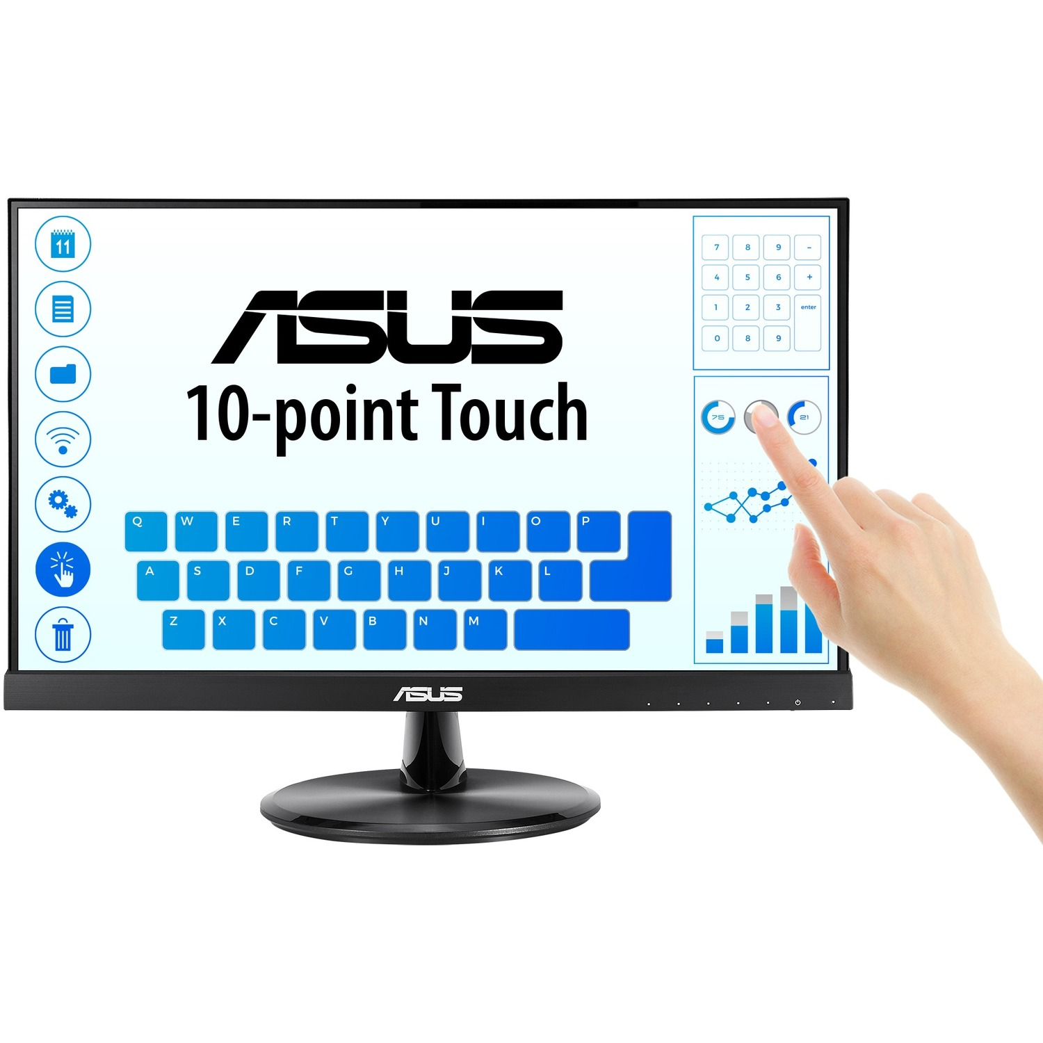 """Asus VT229H 21.5"""" LCD Touchscreen Monitor - 16:9 - 5 ms GTG_subImage_1"""