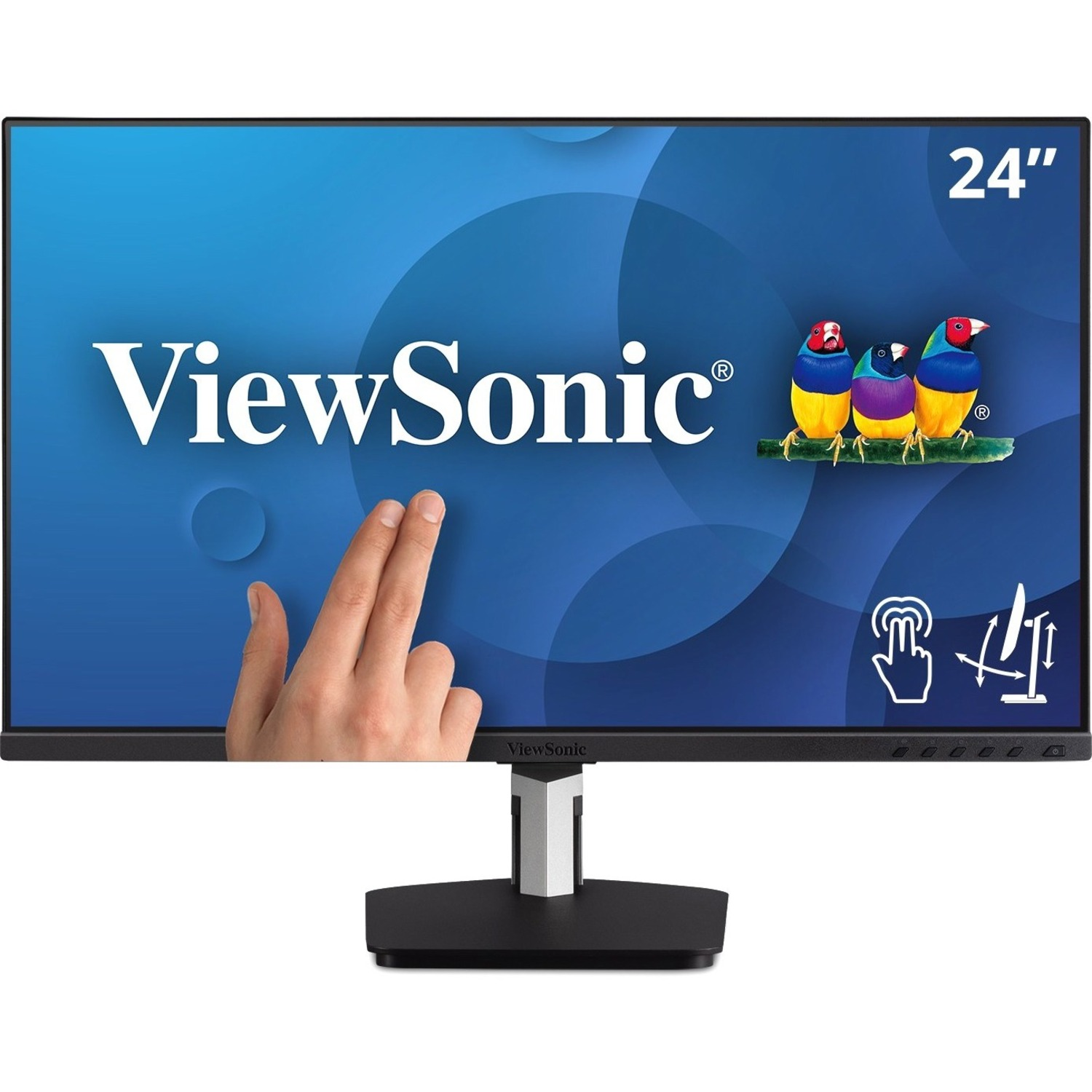 """Viewsonic TD2455 23.8"""" LCD Touchscreen Monitor - 16:9 - 6 ms GTG (OD)_subImage_1"""