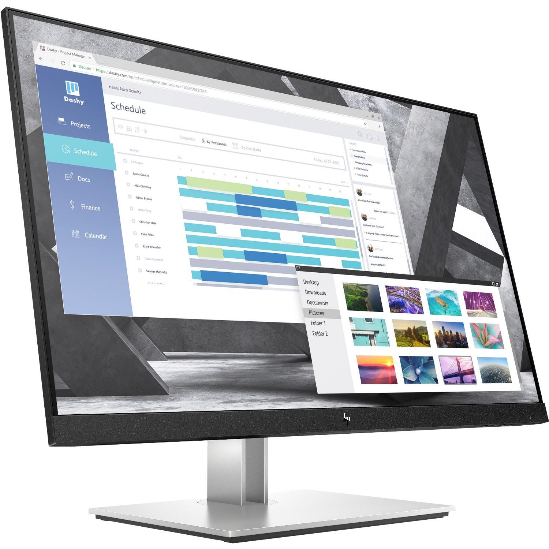 "HP E27q G4 27"" WQHD LED LCD Monitor - 16:9 - Black_subImage_1"