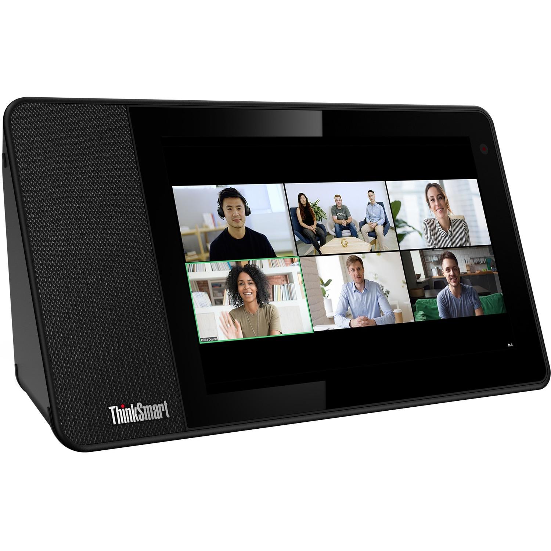 "Lenovo ThinkSmart View ZA840013US Tablet - 8"" HD - 2 GB RAM - 8 GB Storage - Android 8.1 Oreo - Business Black_subImage_1"