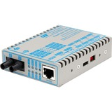 FlexPoint 10/100 Ethernet Fiber Media Converter RJ45 ST Multimode 5km