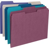 Smead 11948, 1/3 Cut Recy. Colored Top Tab File Folders, SMD11948