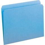 Smead 12010, Assorted Two-Ply Tabs Straight Cut Folders, SMD12010