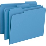 Smead 12043, 1/3 Cut Recy. Colored Top Tab File Folders, SMD12043