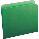Smead 12110, Assorted Two-Ply Tabs Straight Cut Folders, SMD12110