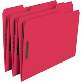 Smead 12740, Colored Top-Tab Fastener File Folders, SMD12740