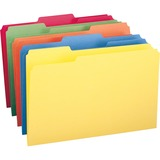 Smead 16943, 1/3 Cut Recy. Colored Top Tab File Folders, SMD16943