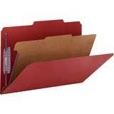 Smead 18731, Colored One Divider Classification Folders, SMD18731