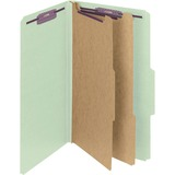 Smead 19076, Plain 2/5 Tab Colored Classification Folders, SMD19076