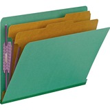 Smead 26785, End Tab 2-Div Classification Folders, SMD26785