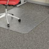 Lorell Rectangular Low-pile Economy Chairmat