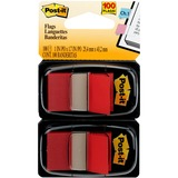 """Post-it® Flags, 1"""" Wide, Red 2-pack"""