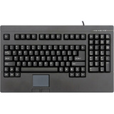Solidtek Full Size POS Keyboard with Touchpad Mouse KB-730BP - PS/2 - TouchPad - PC (KB-730BP)