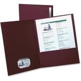 Esselte Oxford Twin Pocket Linen-like Folders, ESS50541