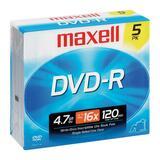 Maxell MaxData 4.7GB 16X DVD-R Pack