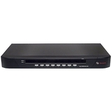 Avocent SwitchView 1000 8-port KVM Switch - 8 x 1 - 8 x HD-15 Keyboard/Mouse/Video - 1U - Rack-mountable (8SV1000-001)