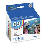 Epson DURABrite Original Ink Cartridge - Inkjet - Cyan, Magenta, Yellow (T069520-S)