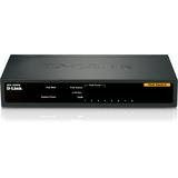 D-Link 8-Port Fast Ethernet PoE Unmanaged Desktop Switch
