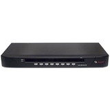 Avocent SwitchView 1000 8-port KVM Switch - 8 x 1 - 8 x HD-15 Keyboard/Mouse/Video - 1U - Rack-mountable (8SV1000BND1-001)
