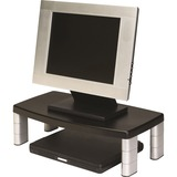 3M Adjustable Monitor Riser Stand - Up to 17IN Screen Support - 40 lb Load Capacity - Black (MS90B)
