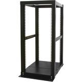 StarTech.com 25U Adjustable Depth 4 Post Open Frame Server Rack Cabinet - 23 25U (4POSTRACK25)