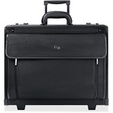 "Solo Carrying Case (Roller) for 16"" Document, Notebook, Accessories - Black"