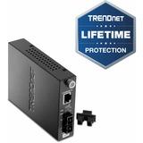 TRENDnet Intelligent TFC-110S15i 10/100Base-TX to 100Base-FX Single Mode SC Fiber Converter