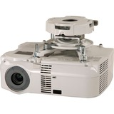 Peerless PRG-UNV-W Precision Gear Projector Mount - 50 lb Load Capacity - Aluminum - White (PRG-UNV-W)