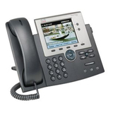 Cisco 7945G Unified IP Phone - 2 x RJ-45 10/100/1000Base-T , Headset - 2Phoneline(s) (CP-7945G=)