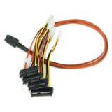 LSI Logic Forward SAS Breakout Cable with Drive Power Connectors