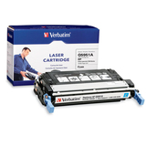 Verbatim HP Q5951A Compatible Cyan Toner Cartridge (4700)