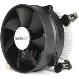 StarTech.com CPU Cooler Fan - Processor cooler - ( Socket 775 ) - aluminum - black - 95mm - 95mm - 2600rpm (FAN775E)