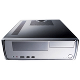 Antec Slim Mini Desktop Case - Desktop Slimline - Silver, Piano Black - 3 x Bay - 1 x Fan(s) Installed - 1 x 350 W - (Minuet350)