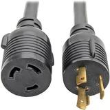 Tripp Lite Heavy-Duty Power Extension Cord Y Splitter Cable - 30A, 10AWG (NEMA L6-30P to 2x NEMA L6-30R) 1-ft. (P041-001-2)